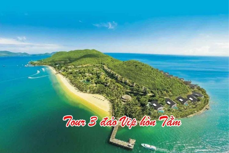 tour 3 đảo vip