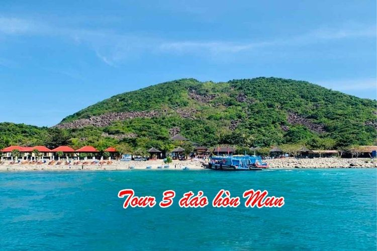 tour 3 đảo hòn mun
